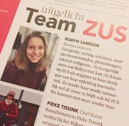 Robyn Samsom - In ZUS